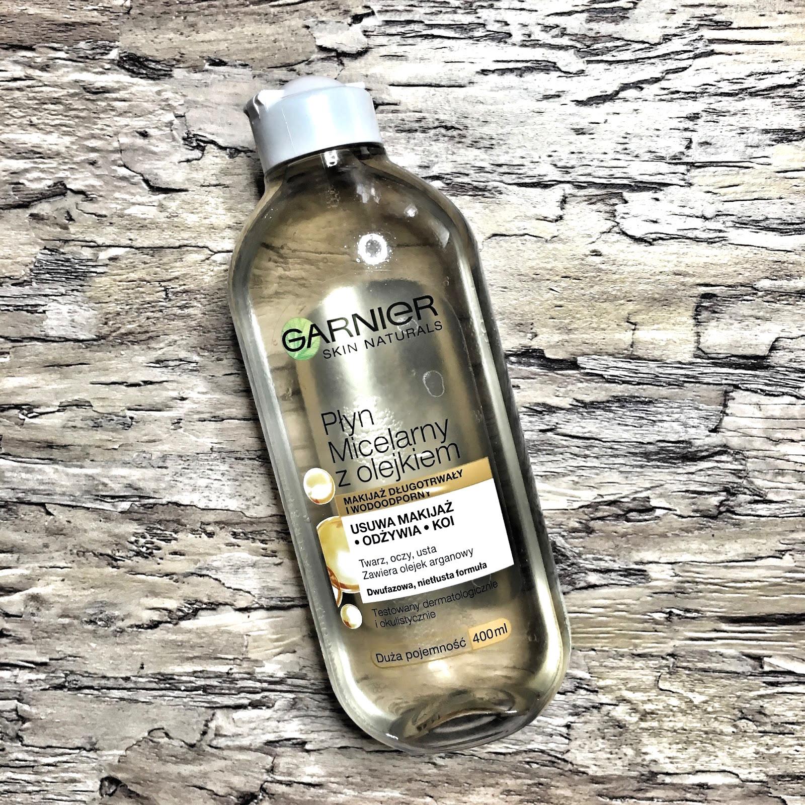 HIT CZY KIT: płyn micelarny z olejkiem arganowym Garnier