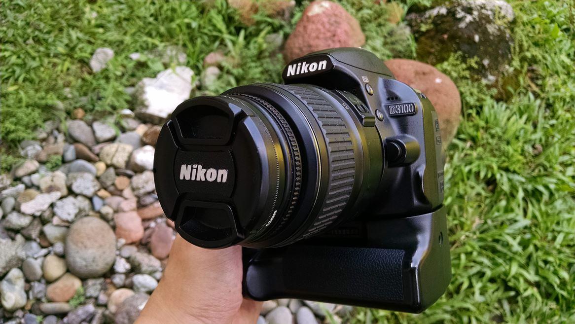 Sold Nikon D3100 Lensa 18 55 Ed Mulus Bonus Battery Grip