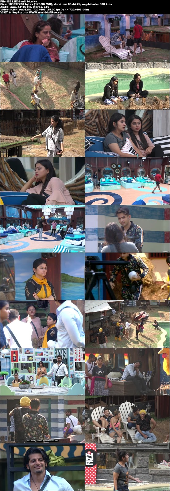 Bigg Boss 12 Episode 38 24 October 2018 WEBRip 480p 170Mb x264 world4ufree.vip tv show Episode 38 24 October 2018 world4ufree.vip 200mb 250mb 300mb compressed small size free download or watch online at world4ufree.vip