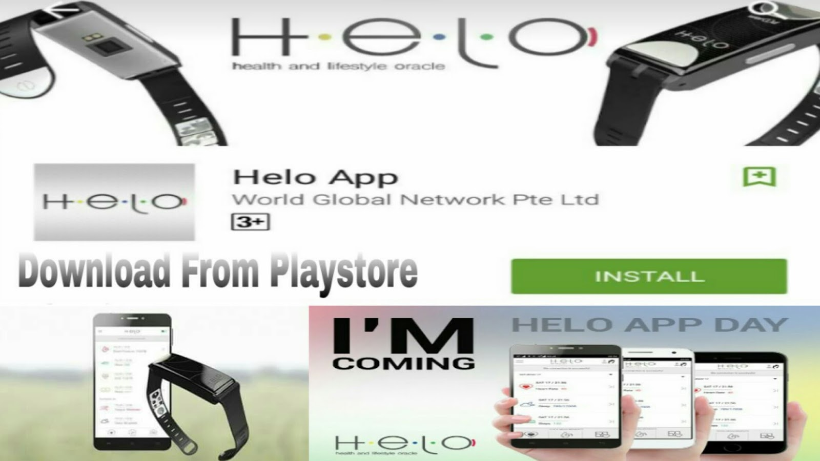 Wor(l)d Your Network: Helo App
