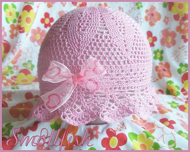 Sombrero Panamá   Patrones crochet 4e5fc1152bb