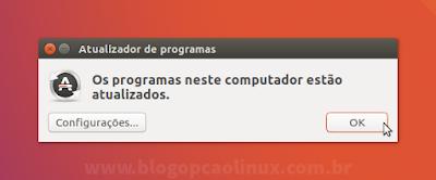 Atualizador de programas do Ubuntu