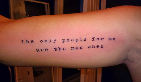Girl Tattoos: Small Quotes For Tattoos About Music