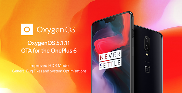 OxygenOS 5.1.11 for the OnePlus 6