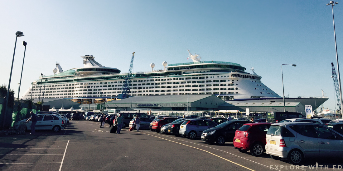 Explorer of the Seas, Royal Caribbean ship, Southampton City Cruise