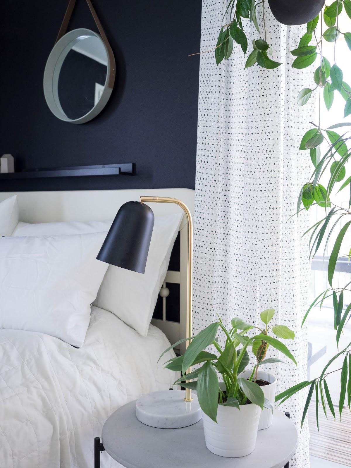 Talostakoti makuuhuone sisustus