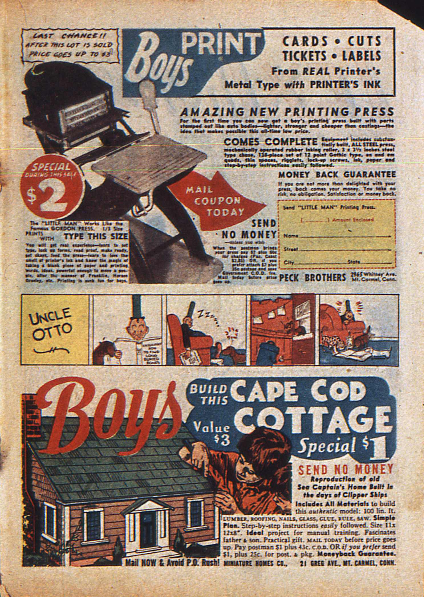 Read online Action Comics (1938) comic -  Issue #23 - 36