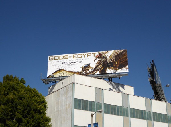 Gods of Egypt billboard