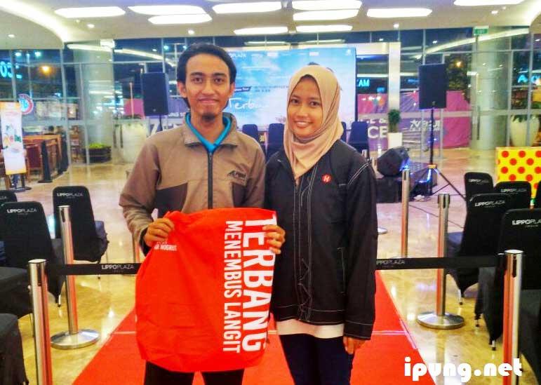 Meet and Greet Film Terbang Menembus Langit di Lippo Plaza Yogyakarta