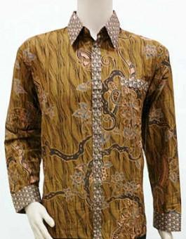 20 Model Baju Batik Pria Lengan Panjang Modern Terbaru 2018 KEREN