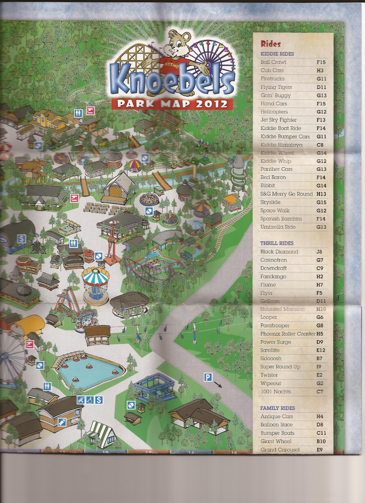 Amut Authority: Knoebels Flying Turns Update and Trip Report on santa's village camping map, idlewild map, from valley forge road duncansville on map, silverwood theme park camping map, darien lake camping map, amusement map,
