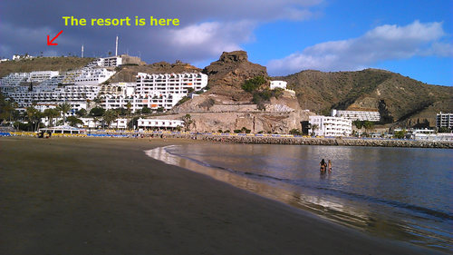 Gran Canaria apartment and hotel