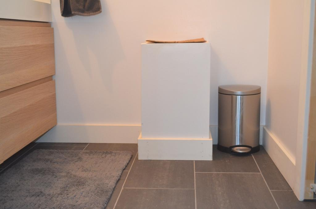 How To Make A Laundry Chute Floor Ceiling Cabinet