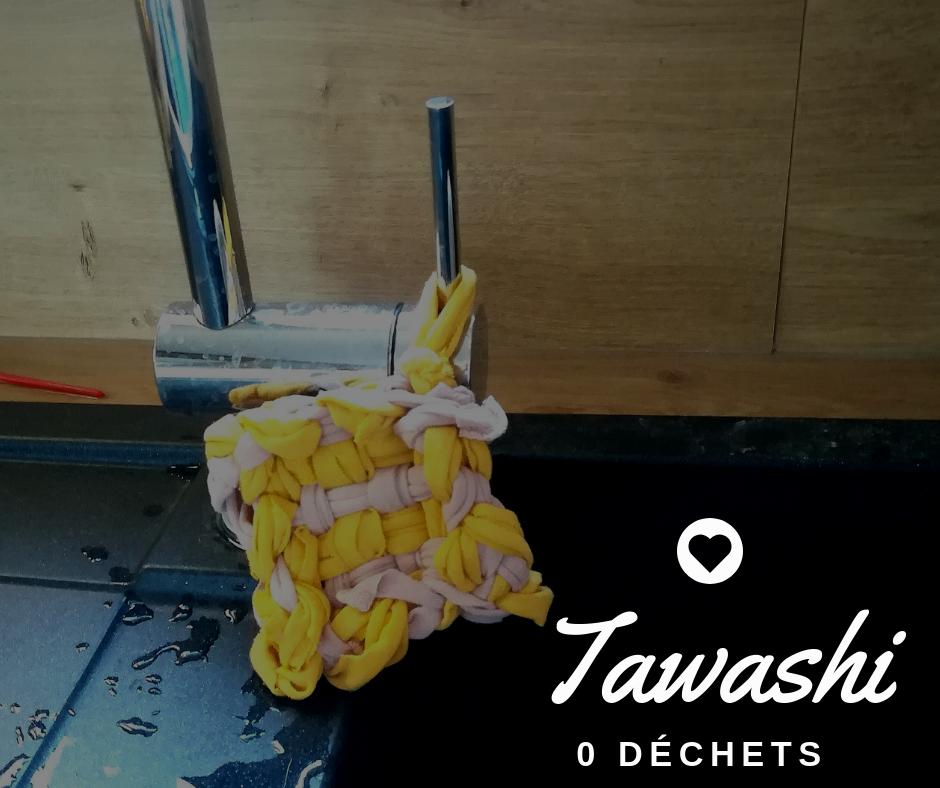 tawashi zéro déchet