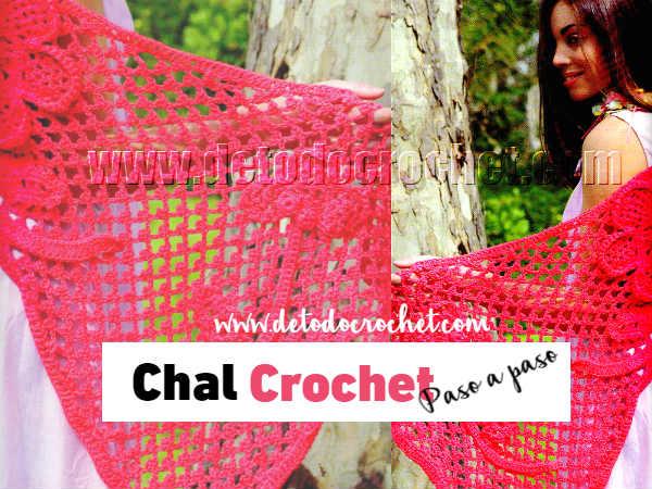 como-tejer-chal-crochet