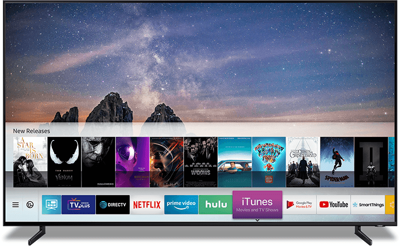 CES 2019: Samsung Smart TVs to come with iTunes Movies and TV shows app and support for AirPlay 2
