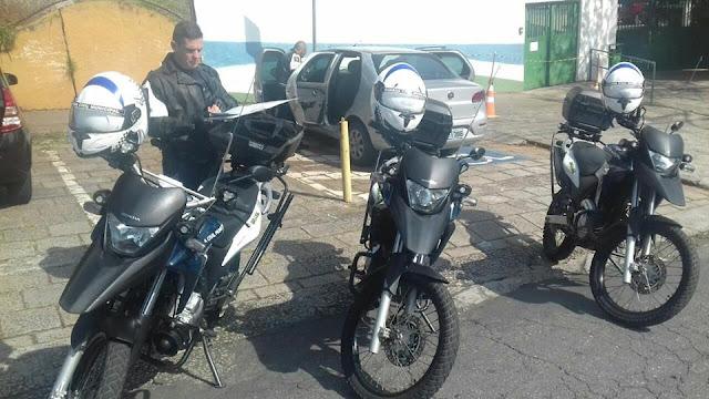 Ronda Escolar da GCM de Santo André localiza veículo furtado próximo a EMEIEF Therezinha Monteiro de Barros