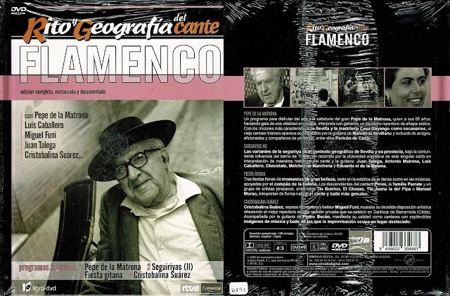 "Tío Borrico de Jerez RITO Y GEOGRAFÍA DEL CANTE"" (4) DVD   FIESTA GITANA"