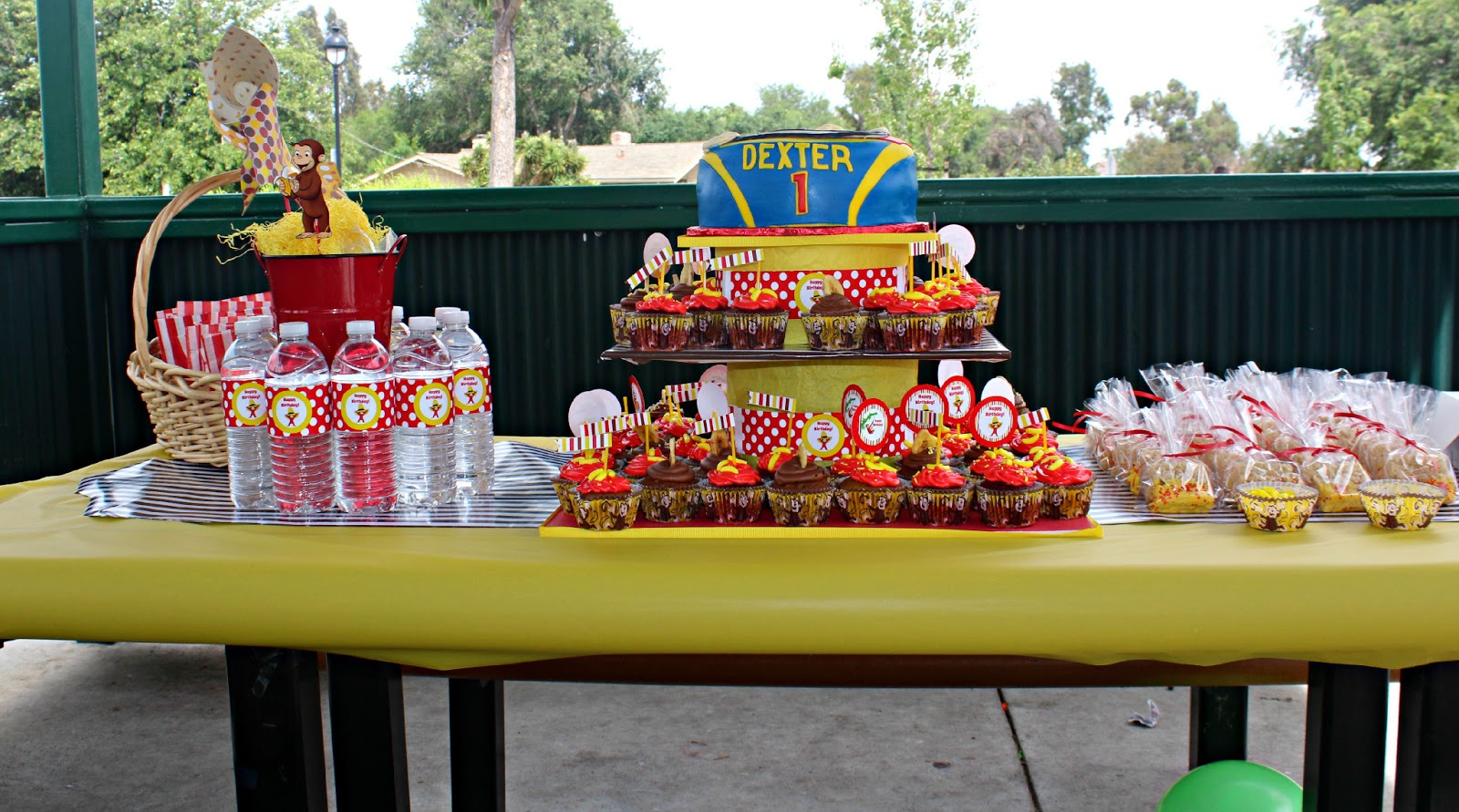 Curious George Party Theme For Grandson S 1st Birthday