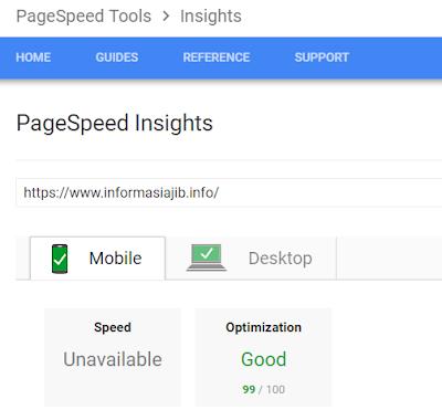 Cara Cek Kecepatan Loading Page Halaman Blog