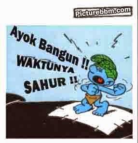 Display Picture Bergerak DP Bbm Islamic Makan Sahur Puasa H Info
