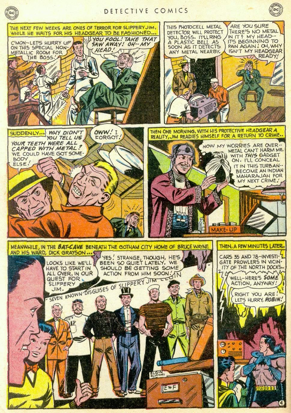 Read online Detective Comics (1937) comic -  Issue #163 - 5