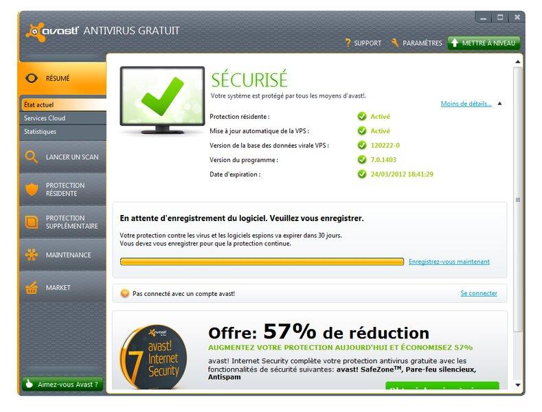 antivirus avira gratuit 2012 clubic