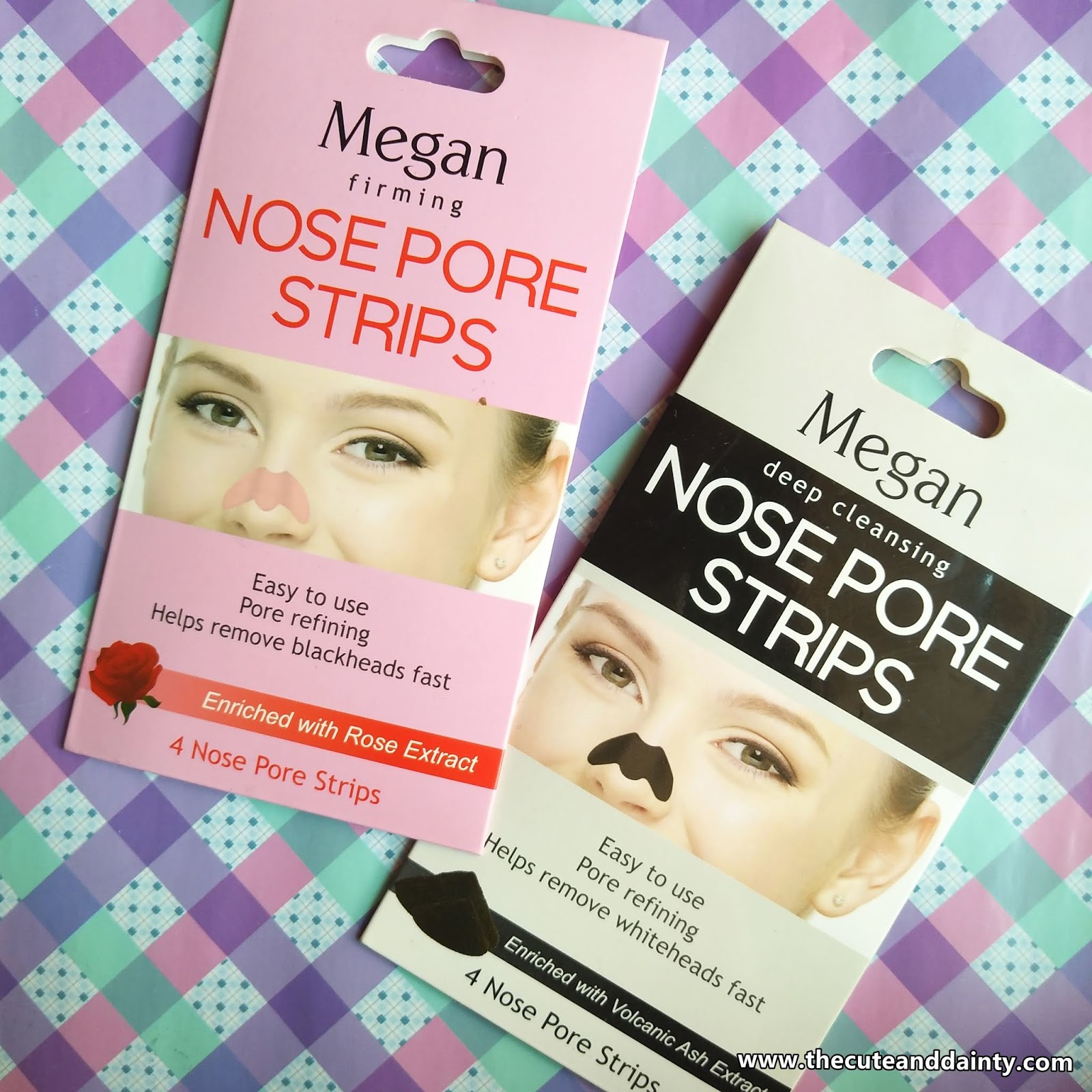 Review: Megan Nose Pore Strips (Deep Cleaning and Firming
