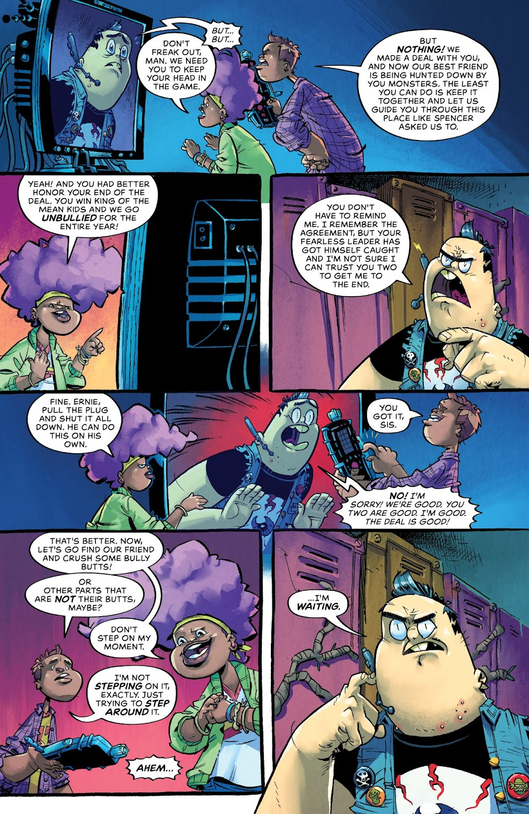 Read online Bully Wars comic -  Issue #4 - 20