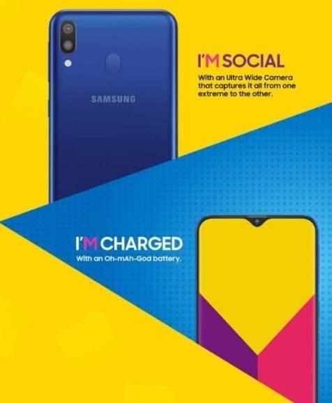 Samsung Galaxy M20 dan M10 Spesifikasi dan Harga