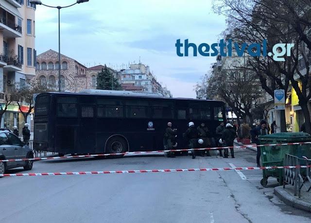 Θεσσαλονίκη: Επί ποδός η ΕΛ.ΑΣ. για την εκδήλωση Ελλήνων και Σκοπιανών αναρχικών (ΦΩΤΟ)