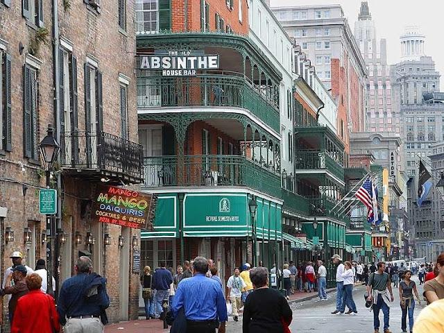 Novelas románticas en Nueva Orleans