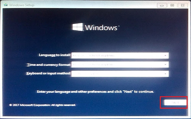 windows install language