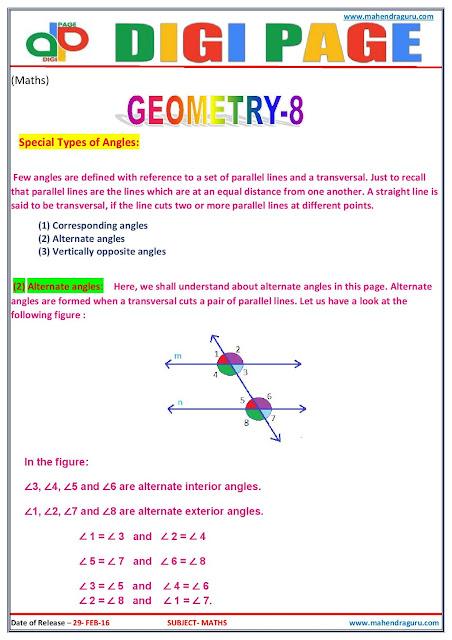 Digi Page - Maths - 29.02.2016