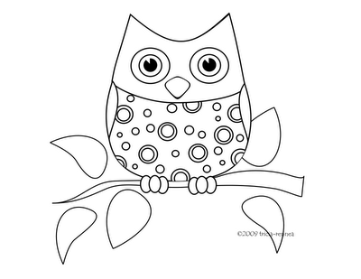 cute baby owl animals coloring pages | Cute Baby Owl Coloring Pages To Print – Colorings.net