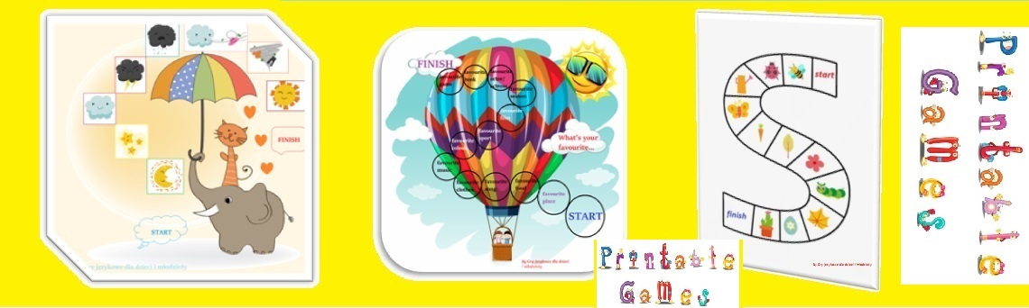 Gry jezykowe-printable games