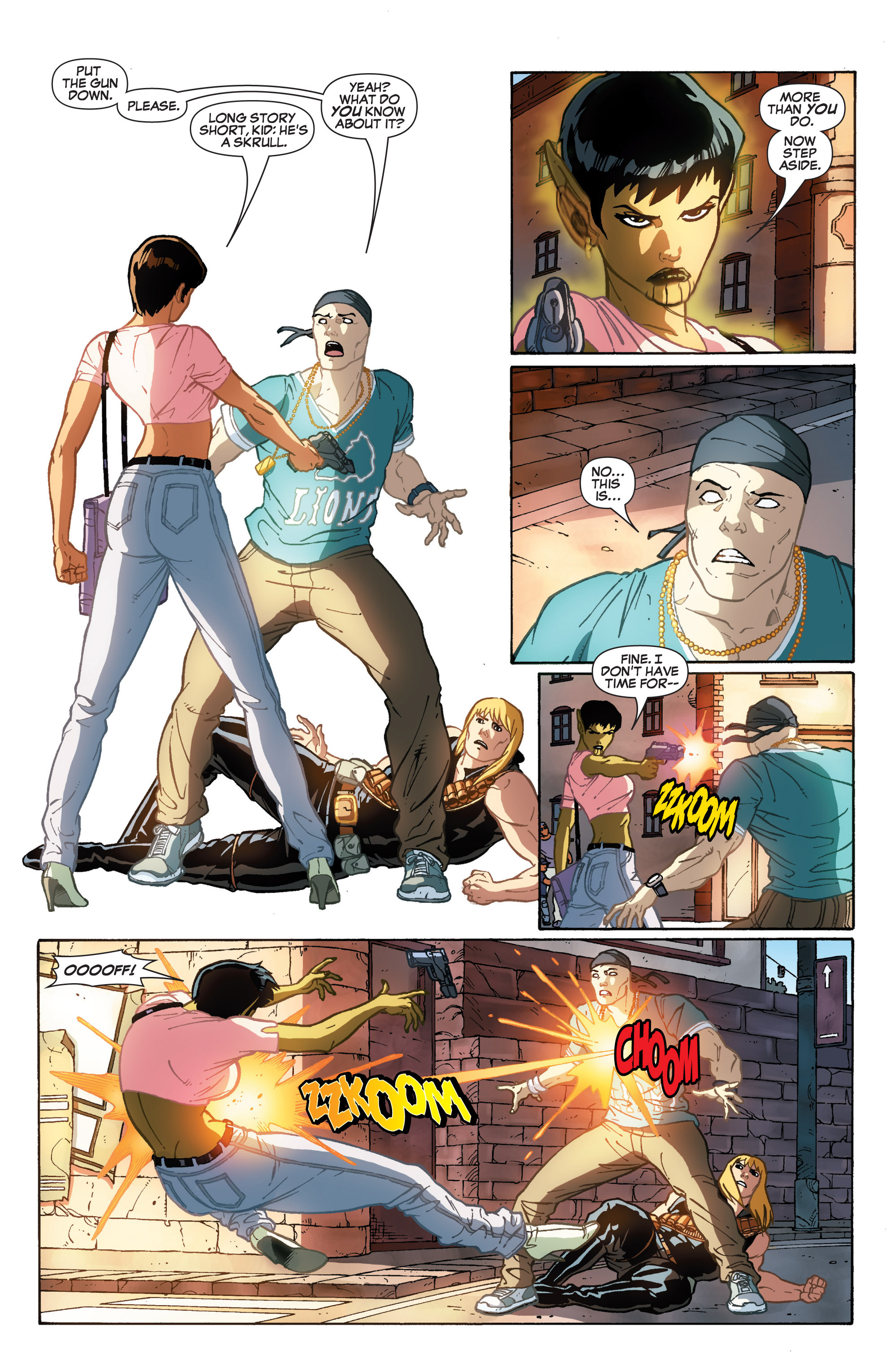 Read online She-Hulk (2005) comic -  Issue #31 - 17