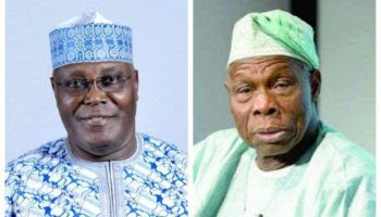 Obasanjo Gets A Message: Atiku should drop Obi or lose 2019