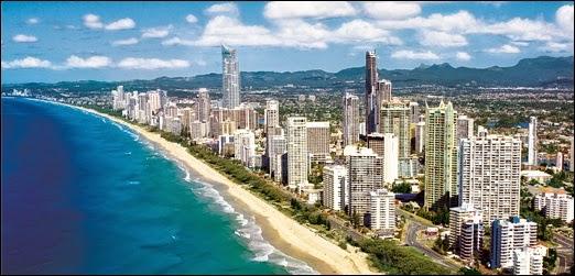 objek wisata Gold Coast