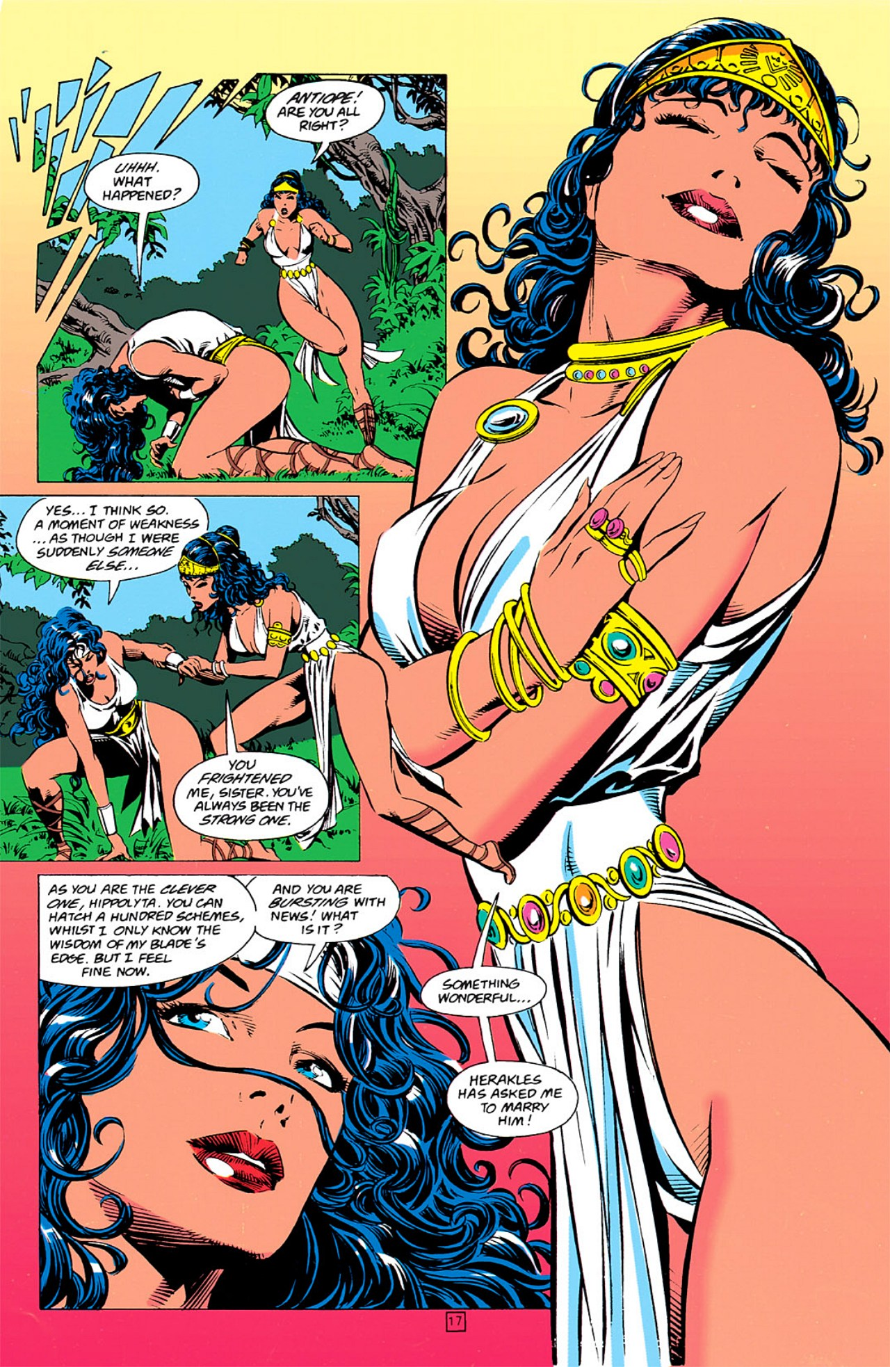 Read online Wonder Woman (1987) comic -  Issue #0 - 18