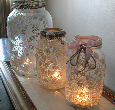 jars candle lamp - Decorative Jars
