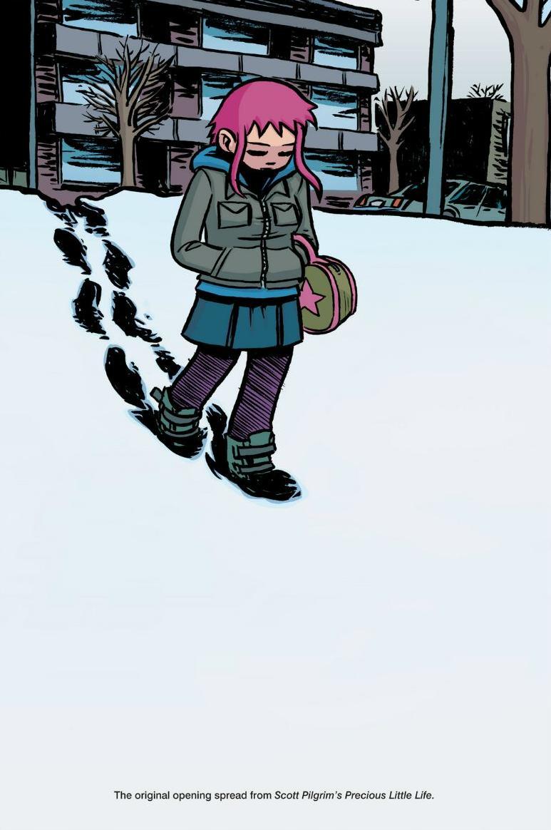 Read online Scott Pilgrim comic -  Issue #1 - 170