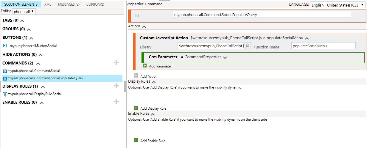 How to do in Dynamics CRM: Dynamic Flyout Menu in Unified Interface