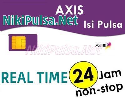 Update Harga Pulsa Axis Termurah Server Niki Reload Pulsa Elektrik Online Termurah Jakarta Bandung Semarang Surabaya