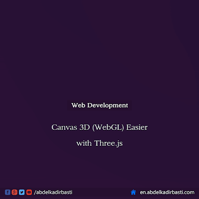 Canvas 3D (WebGL) easier with Three.js