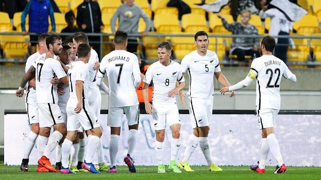 Nueva Zelanda en la Copa Confederaciones