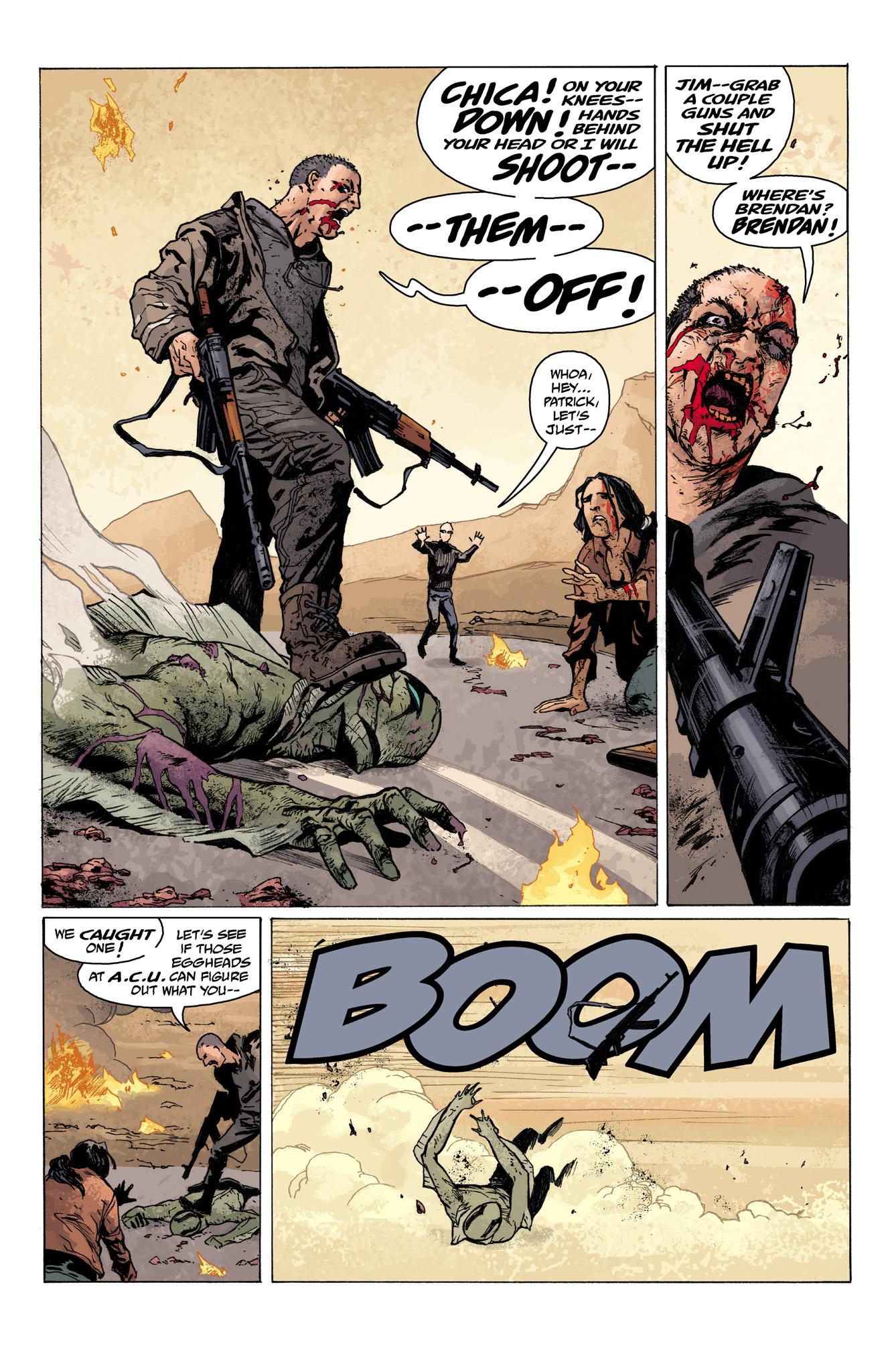Read online Abe Sapien comic -  Issue #7 - 21