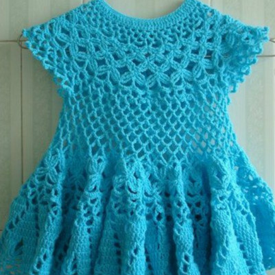 Beautiful Crochet pattern shop Children Dress For Girls