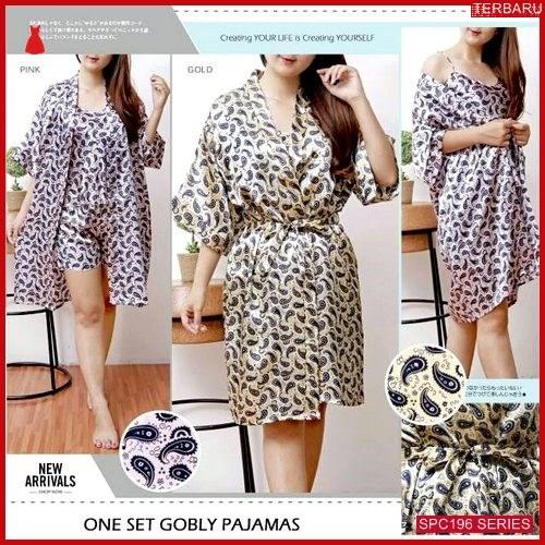 SPC196O101 One Set Pajamas Gobly Baju Tidur Wanita | BMGShop