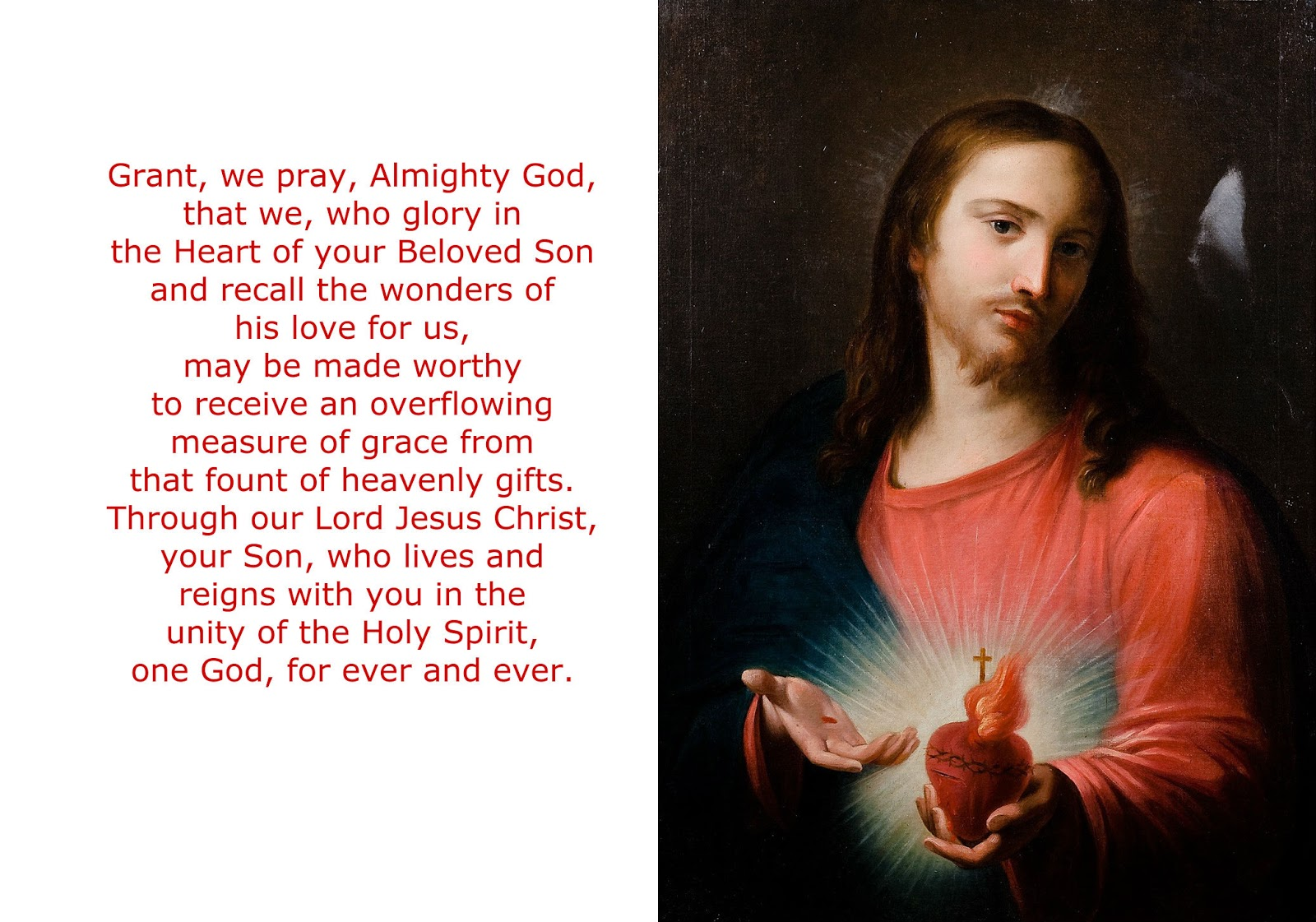 Daily Homilies: Solemnity of the Most Sacred Heart of Jesus